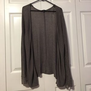 American Eagle Women's Grey Cardigan | Size Medium
